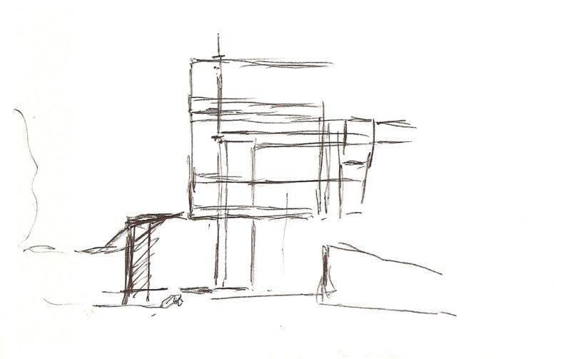 wie male ich ein haus bilder aquarelle vom meer mehr von frank koebsch. Black Bedroom Furniture Sets. Home Design Ideas