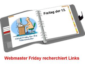 Webmaster Friday recherchiert links