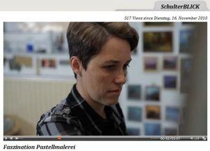 Faszination Pastellmalerei - eine Video Portrait von Astrid Volquardsen auf Boesner TV