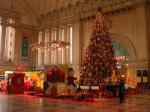 Weihnachtsbaum im Leipziger Hauptbahnhof (2)