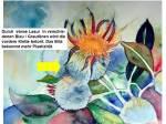 Hinweise zu einem Distel Aquarell (2)