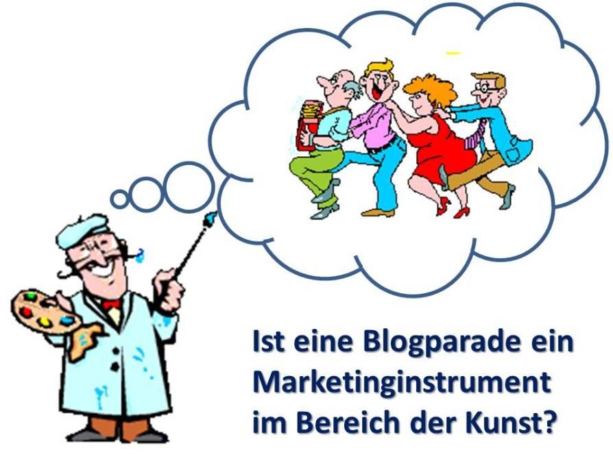 Blogparade als Marketinginstrument im Bereich der Kunst