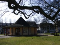 Roter Pavillon auf dem Doberaner Kamp (c) Frank Koebsc