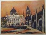 Prag (c) Farbradierung Aquatinta von Andreas Mattern