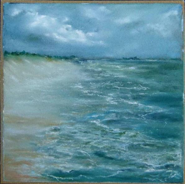 Darßer Strand (c) Pastell von Hanka Koebsch