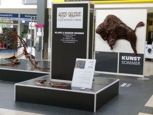 Die Adem-Galerie auf dem 1. Kunstsommer (c) Frank Koebsch