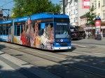 in der Werbung für Rostock