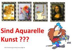 Sind Aquarelle Kunst ?