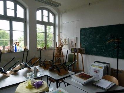 Unterrichtsraum 2 Malerei der VHS Schwerin (c) Frank Koebsch