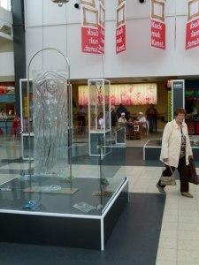 Ute Stender - Glasmacherin auf dem 1. Kunstsommer (c) Frank Koebsch 1