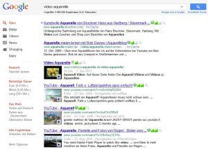 Google Suche – Video Aquarelle
