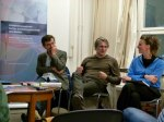 Im Podium v.r, Christiane Limper, Dodo Adden,Tim Kellner, (c) FRank Koebsch 2