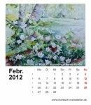 Kalenderblatt Februar 2012
