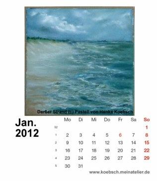 Kalenderblatt Januar 2012