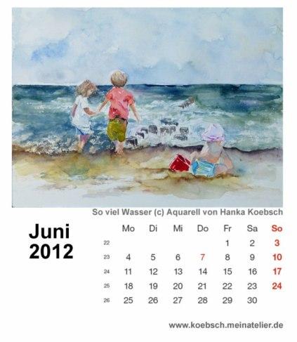 Kalenderblatt Juni 2012
