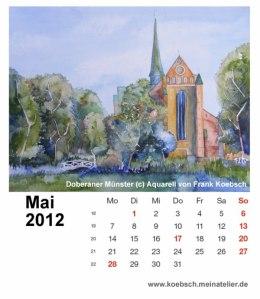Kalenderblatt Mai 2012