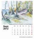 Kalenderblatt September 2012
