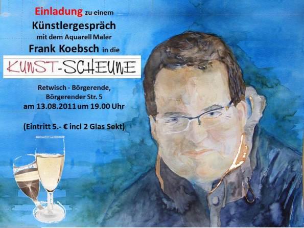 Künstlergespräch mit Frank Koebsch