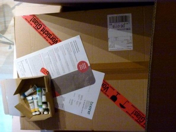 Paket von boesner (c) Frank Koebsch