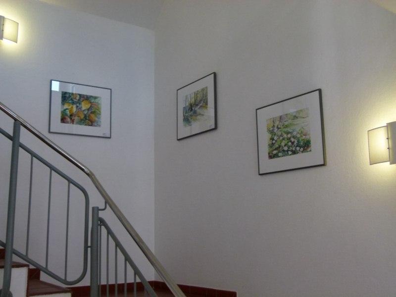 aquarelle pastelle von hanka und frank koebsch im haus der stadtwerke rostock bilder. Black Bedroom Furniture Sets. Home Design Ideas