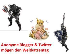 Anonyme Blogger und Twitterer mögen den Weltkatzentag