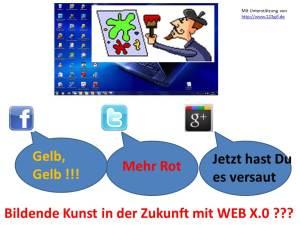 Bildende Kunst in der Zukunft mit WEB X.0 ???