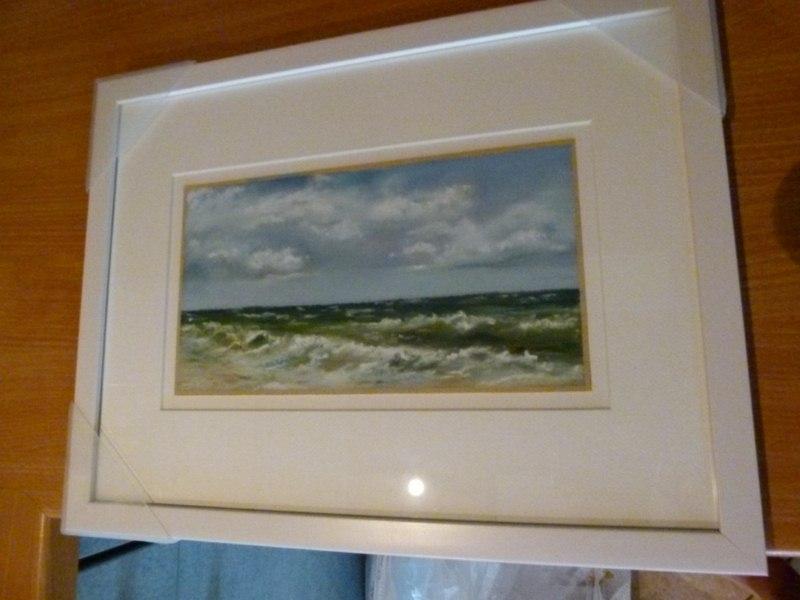 Wie verschickt man gerahmte Bilder? | Bilder, Aquarelle vom Meer ...