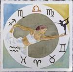 Sternzeichen Balance statt Waage (c) Aquarell von Frank Koebsch