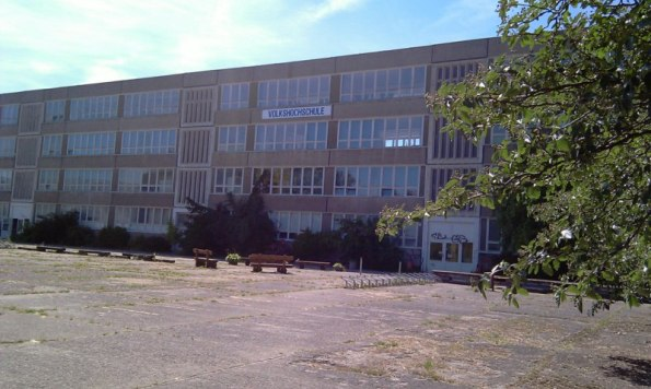 Volkshochschule Rostock in Lütten Klein (c) Frank Koebsch 2