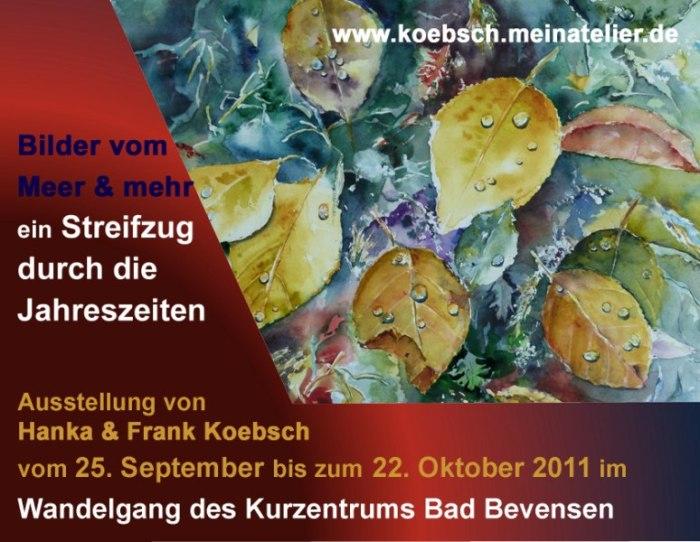 Ausstellung m Wandelgang des Kurzentrums Bad Bevensen