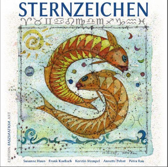 Buchcover Sternzeichen - Vorderseite
