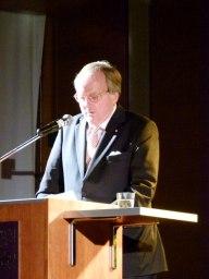 Dr. Matthias von Hülsen bei der Laudatio (c) Frank Koebsch