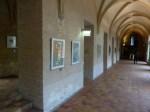 """Kunstbörse in der hmt - im Kreuzgang der HMT """"Im Wort oder von 3 Dichtern"""" von Gerlinde Creutzberg (c) Frank koebsch"""