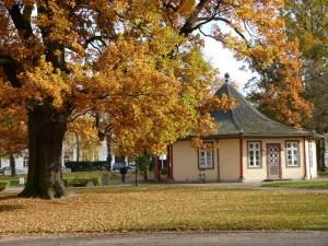 Roter Pavillon auf dem herbstlichen Kamp (c) FRank Koebsch (3)