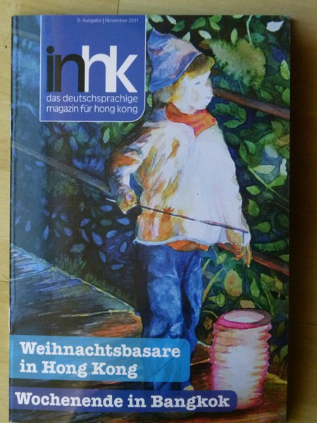 Titelseite der Zeitschrift inhk – das deutschsprachige magazin für hong kong (c) FRank Koebsch