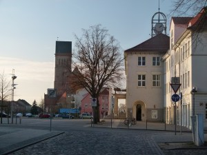 Anklam - Blick auf den Marktplatz (c) Frank Koebsch