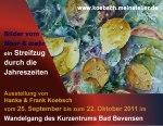 Aquarellmalerei in Bad Bevensen