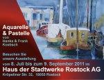 Aquarellmalerei in den Stadtwerken Rostock