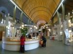 Foyer der Humboldt Bibliothek (c) Frank Koebsch