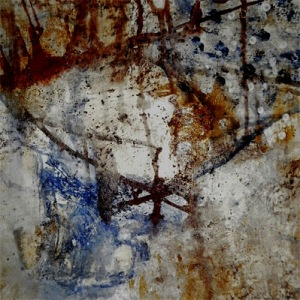 december rain II - ink and acrylics on torchon paper (c) Anna Schüler