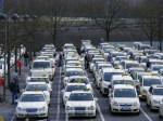 Taxi Flotte in Berlin - Tegel (c) Frank Koebsch