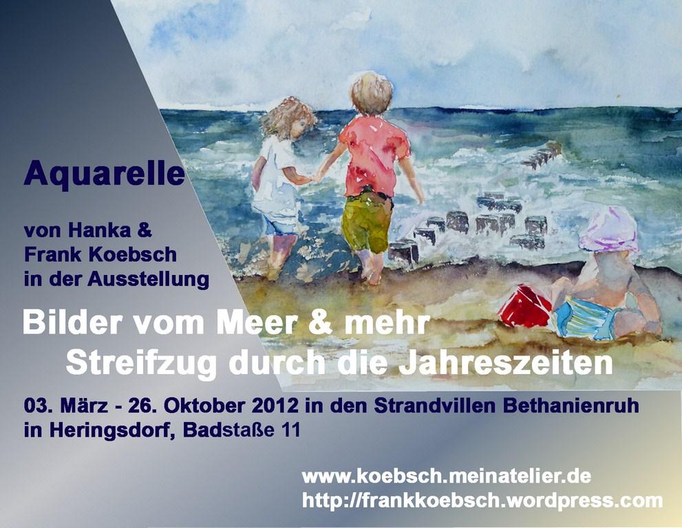 Ausstellung in Heringsdorf in den Strandvillen Bethanienruh