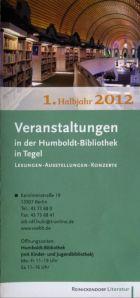 Humboldt Bibliothek - Veranstaltungsankündigungen für 2012