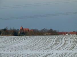 winterlicher Blick auf Sanitz (c) Frank Koebsch
