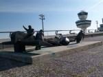 Vor dem Start nach Calais zum Europa-Flug von Karlheinz Biederbick