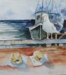 Zwei Möglichkeiten (c) Aquarell von Hanka Koebsch
