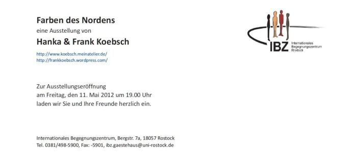 Einladung in das Internationale Begegnungszentrum Rostock e.V.