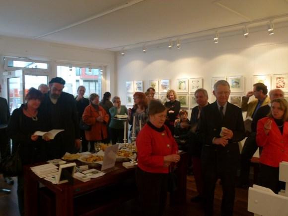 Schnappschüsse von der Ausstellungseröffnung (c) Frank Koebsch (8)