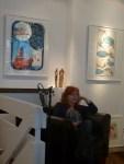 Susanne Haun in unserer Ausstellung (c) Frank Koebsch