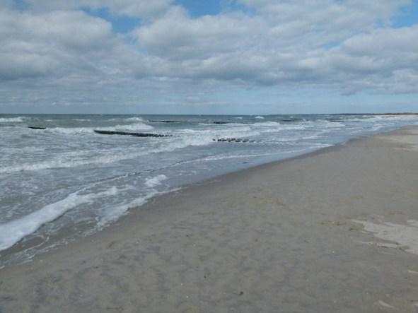 Wind, Wellen, Sonne, unendliche Weite bis zum Horizont (c) Frank Koebsch
